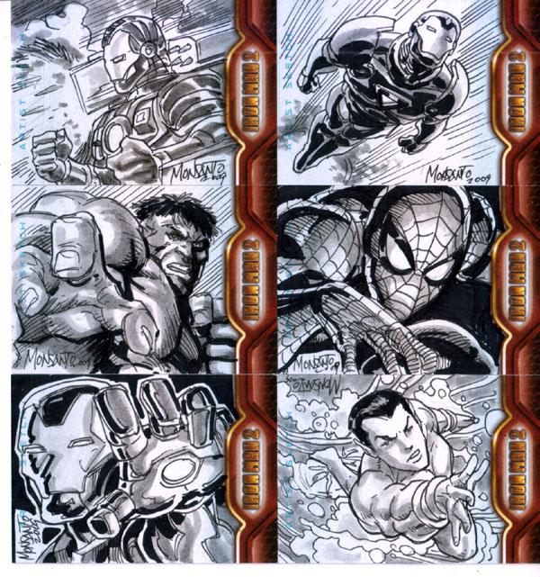 sideways IRONMAN2 cards by gammaknight