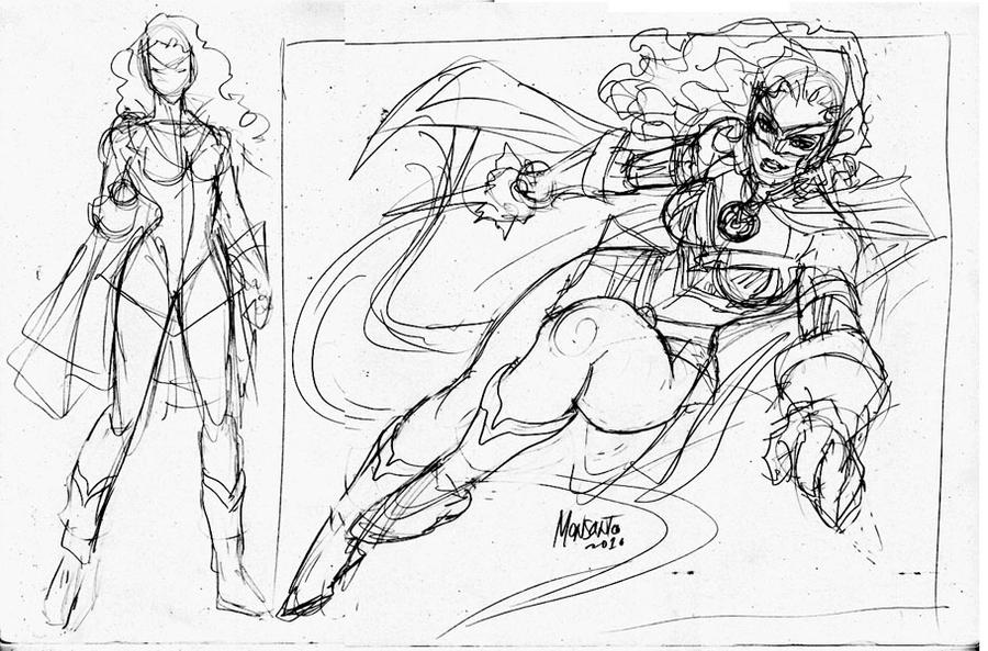 Mindy Lantern wip by gammaknight