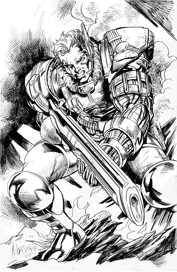 CABLE by gammaknight
