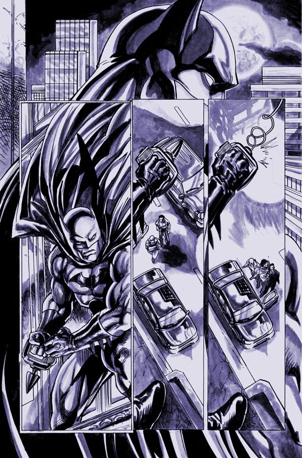 Batman seq page 1 by gammaknight