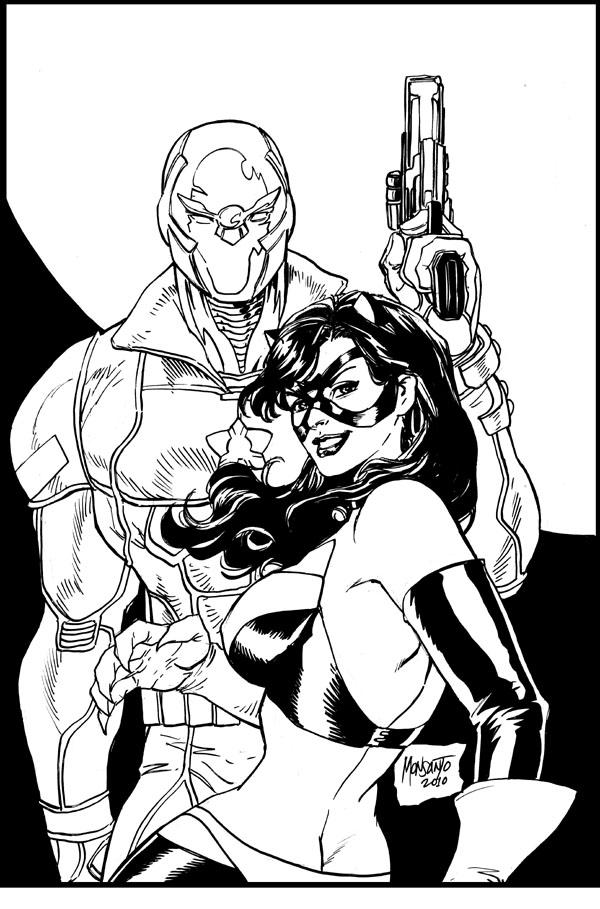 SS and Phantomcat by gammaknight