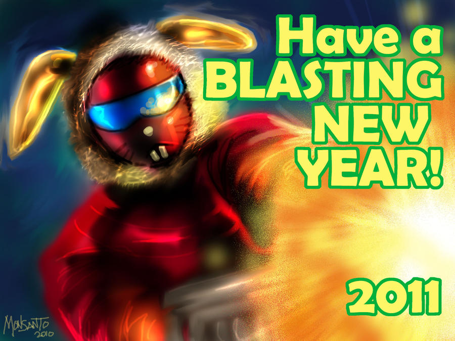 Happy New Year 2011 by gammaknight