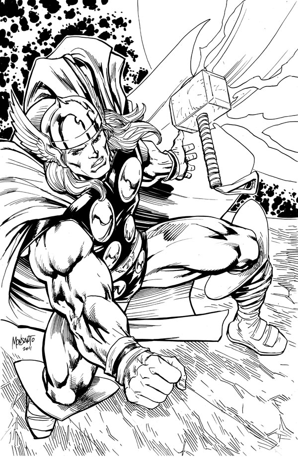 Thor return to sender by gammaknight