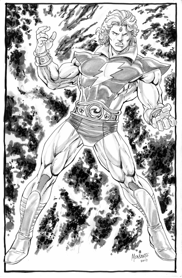 adam warlock by gammaknight
