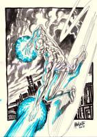 silver surfer by gammaknight