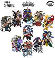 Bayan Knights book of origins by gammaknight