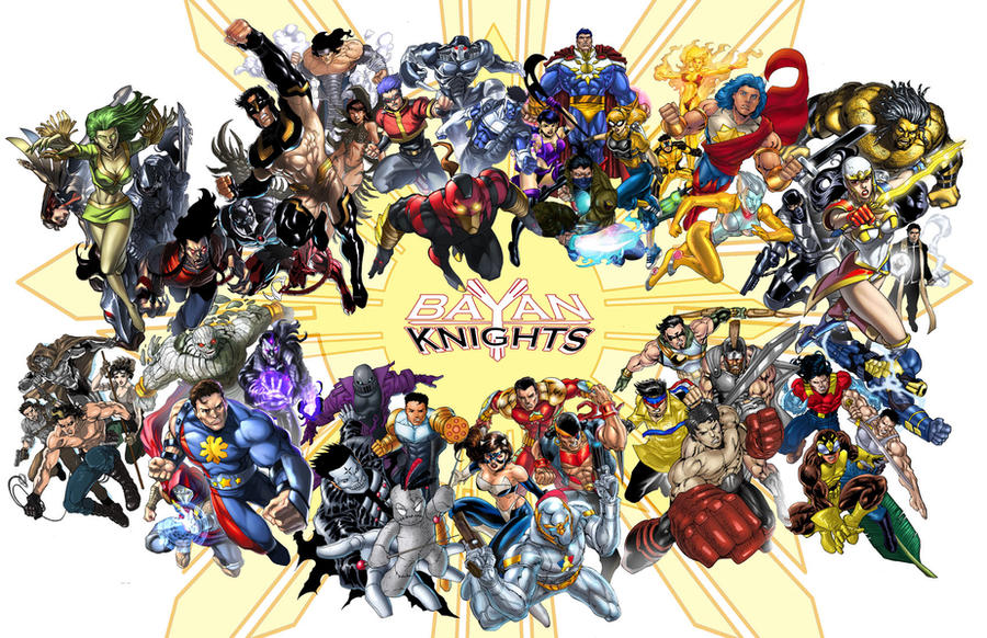 Bayan Knights: know your heroes by gammaknight