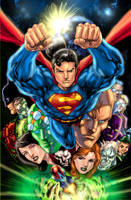 Supes under the cape colored by gammaknight