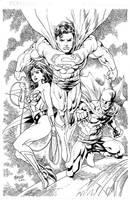 Trinity commish by gammaknight