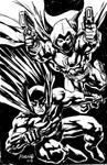 Batman and Moon Knight