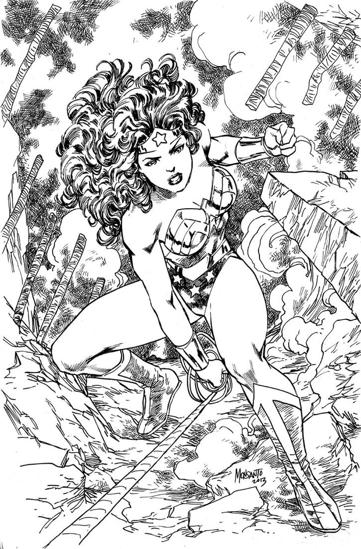wonder woman coloring pages - wonder woman by gammaknight on deviantart