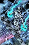 silver surfer pin-up