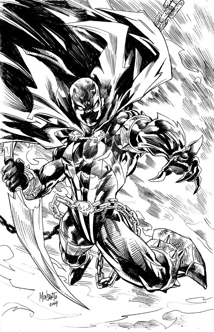 Spawn pencil by gammaknight