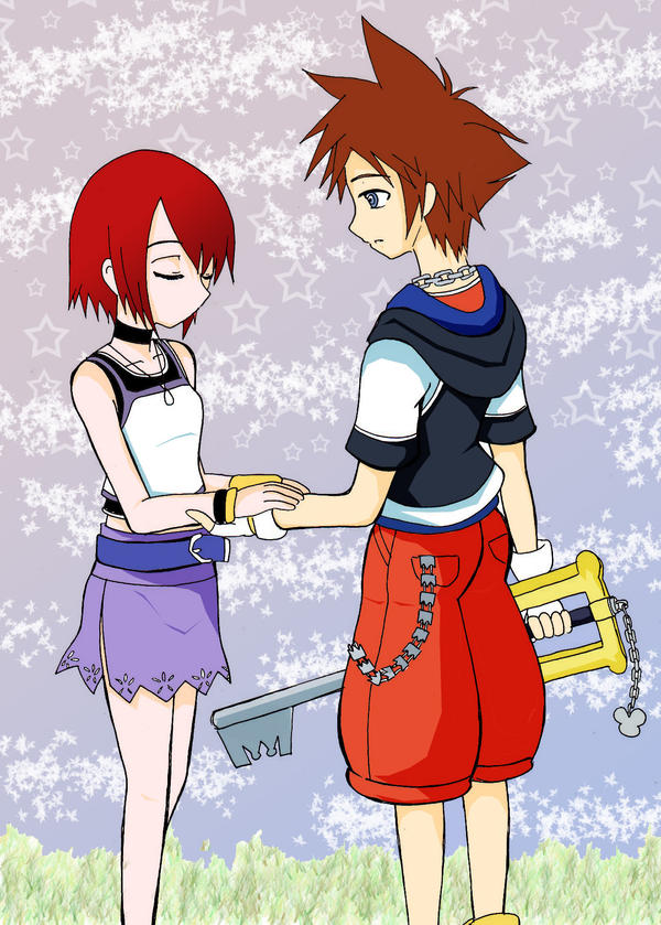 couple kingdom hearts by kairikazu