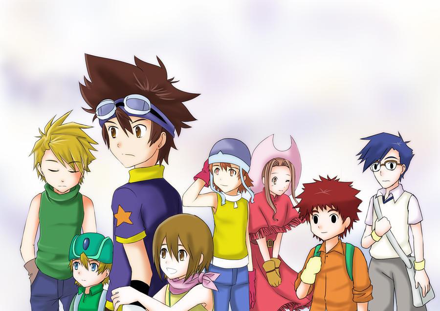 Digimon: 8 digidestined by kairikazu