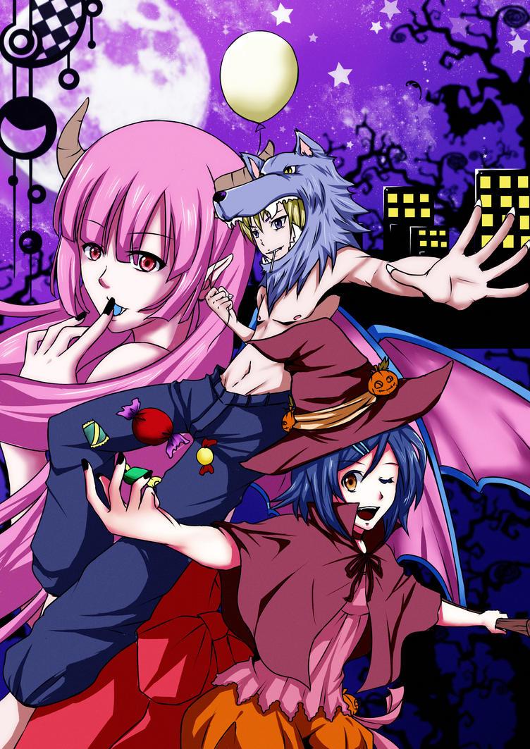 CR: trick or treat Halloween 2013 by kairikazu