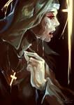 Nun longing