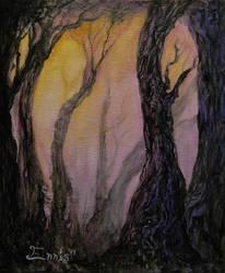 Benevolent Forest by mchobbeshrooms