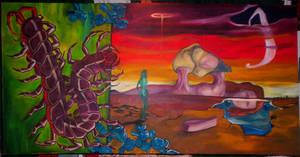 Taurus Rising by mchobbeshrooms