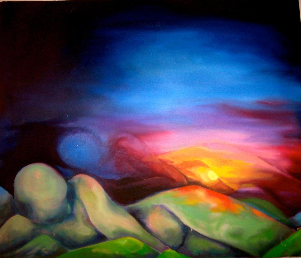 Sunset - Theresa Sokol by Artsy212