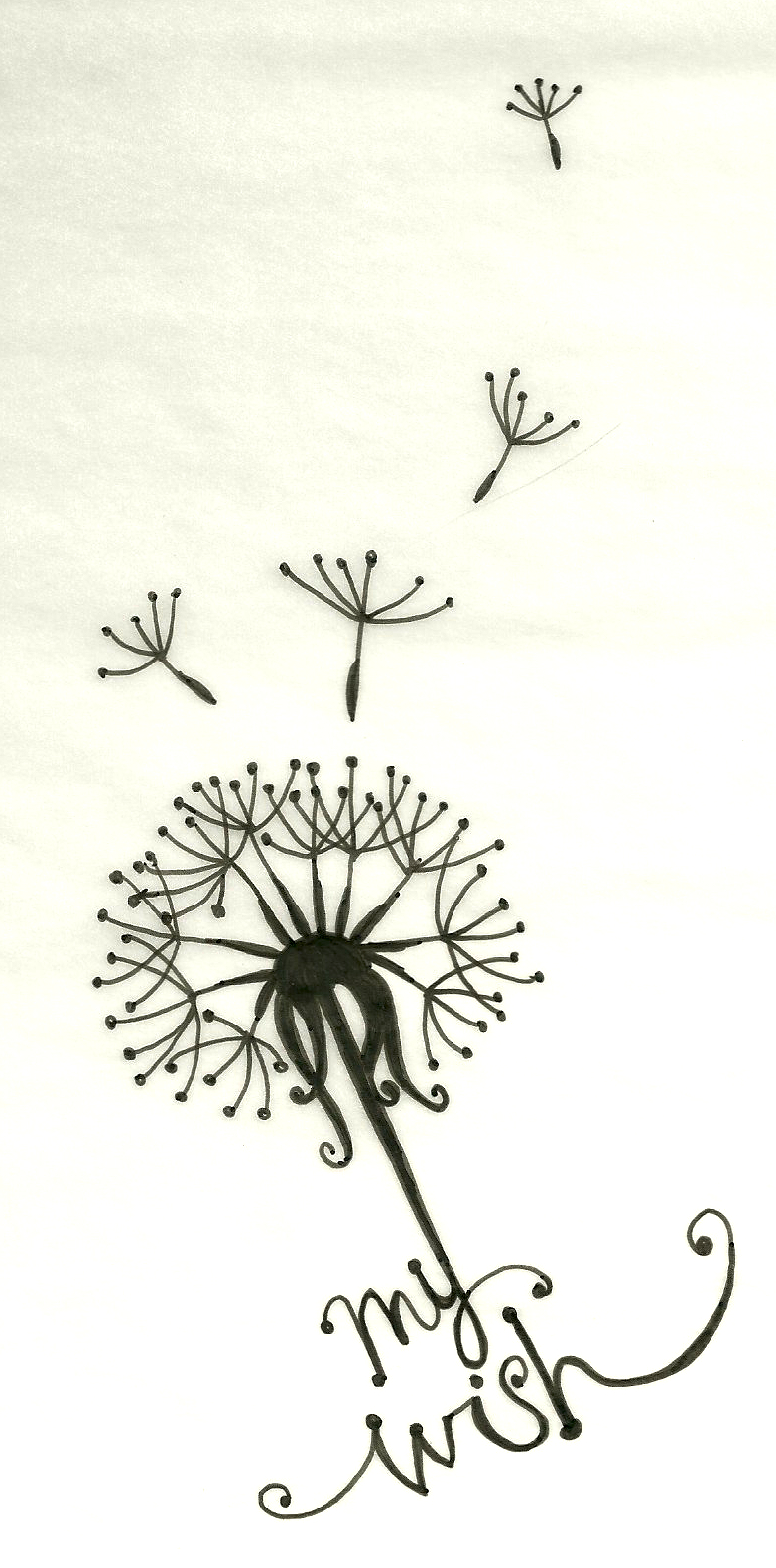 dandelion tattoo by artsy212 on deviantart. Black Bedroom Furniture Sets. Home Design Ideas