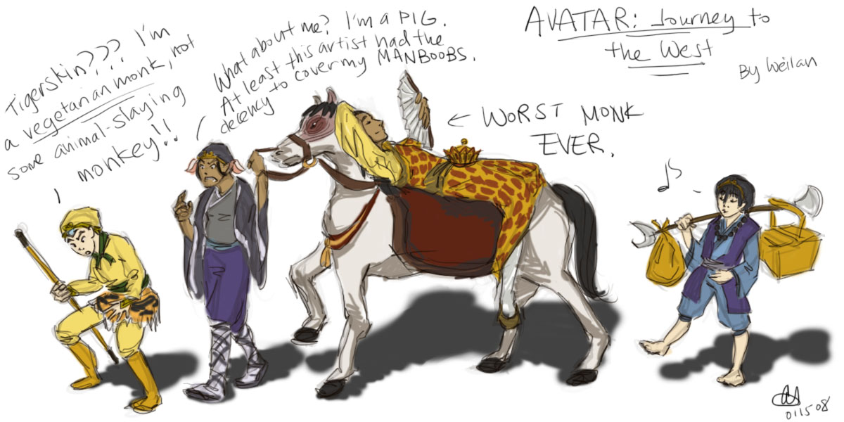 Avatar: Journey to the West by bobangeba