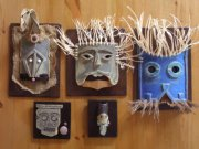 various Hoaxi Tribal Artefacts by spuriouscrafts