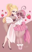 Valentines 2018: Strawberry! by peachpurin