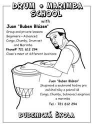 Drum school flyer by niknars