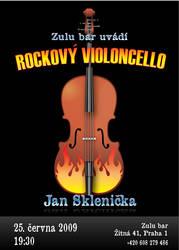 Rock violoncello concert by niknars