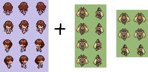 Kairi (Pokemon BW-2) Sprite by alexcubeecraftxDXDXD