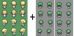 Namine (Pokemon BW-2) Sprite by alexcubeecraftxDXDXD