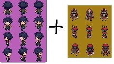 Vanitas (Pokemon BW-2) Sprite by alexcubeecraftxDXDXD