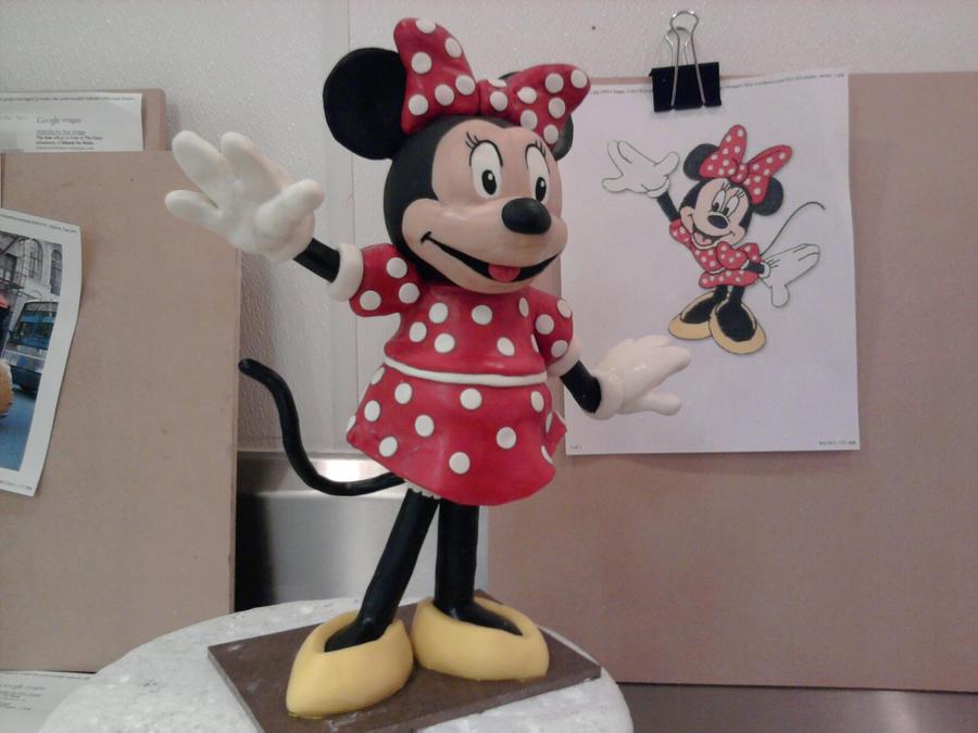 Minnie Mouse sculpt