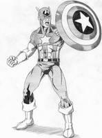 Captain America by Speezi