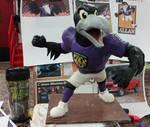 Baltimore Ravens Mascot Sculpt