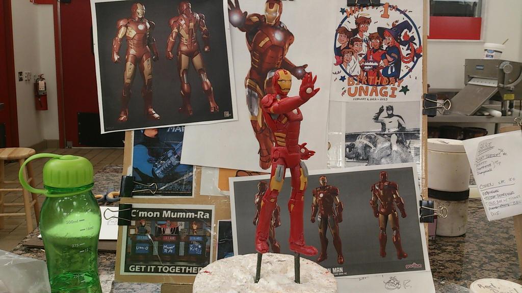 Iron Man sculpt