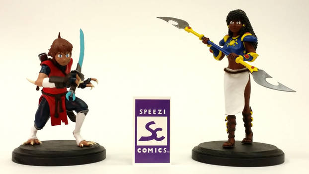 SPEEZI COMICS Nahara and Unagi Figurines