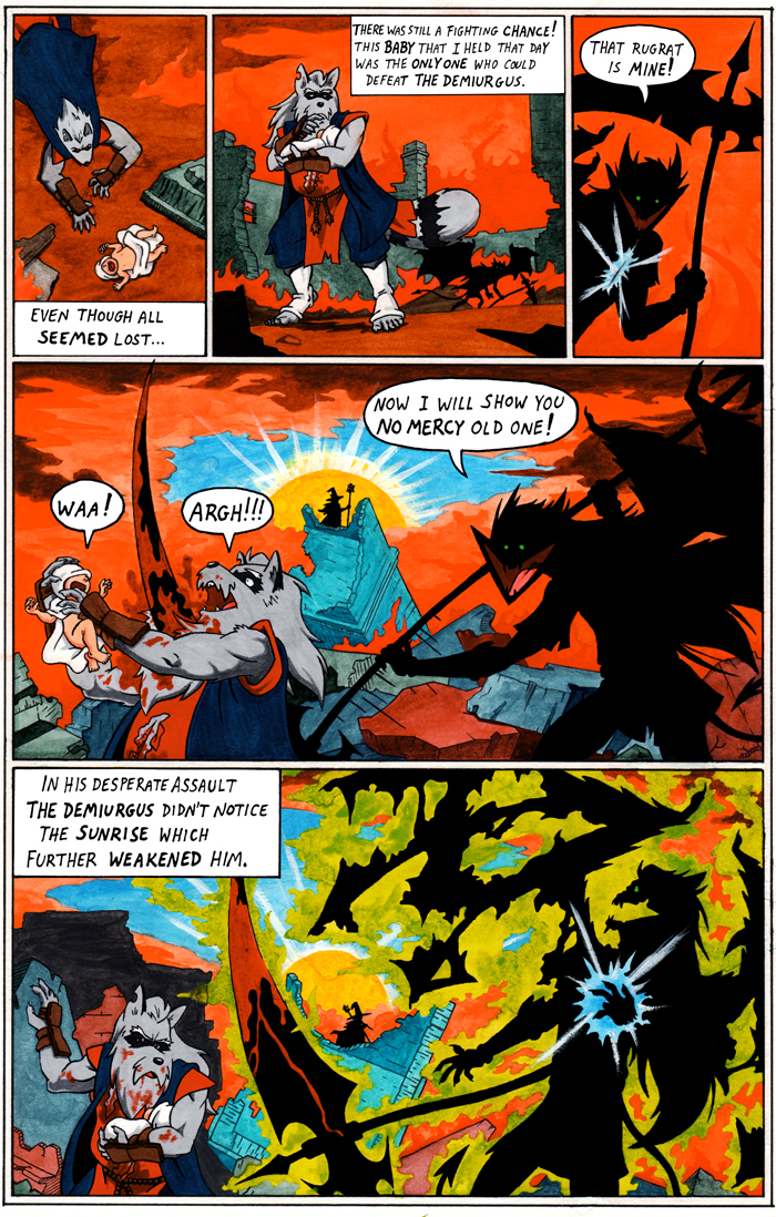 TANUKI BLADE ISSUE 003 - PAGE 4 OF 16