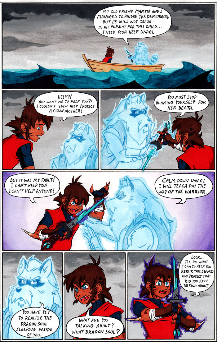 TANUKI BLADE ISSUE 003 - PAGE 6 OF 16