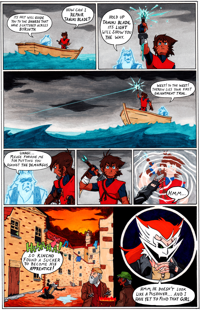 TANUKI BLADE ISSUE 003 - PAGE 7 OF 16
