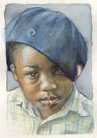 Portrait of Joe by IrieGyal