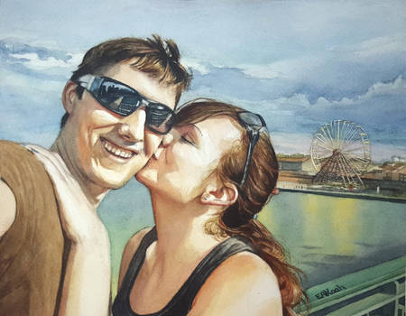 Kiss on the Seine