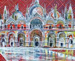 St Mark's Basilica by LauraHolArt
