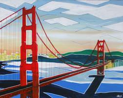 Golden Gate by LauraHolArt