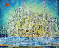 Milan Cathedral by LauraHolArt