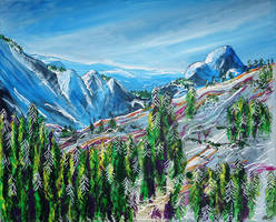 Tioga Pass by LauraHolArt
