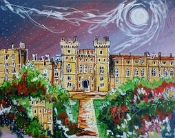 Windsor Castle by LauraHolArt