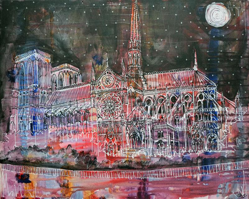 Notre-Dame by LauraHolArt