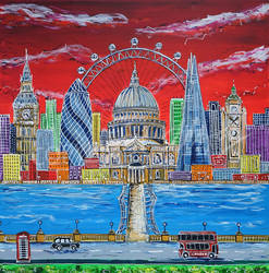Towers of London by LauraHolArt